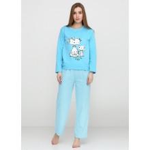 Пижама Baray 018 голубой