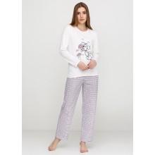 Пижама Baray 018 молочный