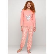 Пижама Baray 0741 персиковый