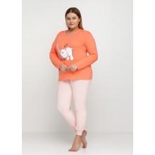 Пижама Baray 0742 персиковый