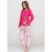 Пижама Baray 074 малиновый