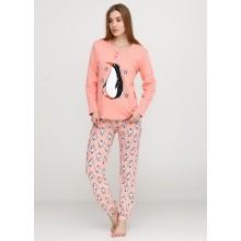 Пижама Baray 074 персиковый