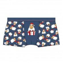 Трусы мужские шорты Cornette 007 Merry Christmas 37 Sheep