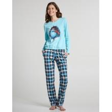 Пижама ELLEN LNP 267/001 turquoise