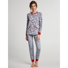 Пижама ELLEN LNP 271/001 grey