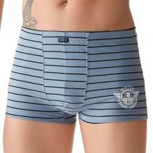 Трусы мужские шорты Key MXH 325 B8 blue-grey