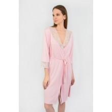 Халат женский N.EL 1104-92 pink