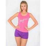 Пижама N.EL 1112-15 pink-purple