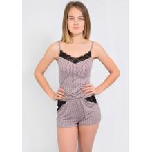 Пижама N.EL 1114-92 mokka