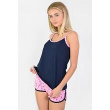 Пижама N.EL 1123-15 blue-pink