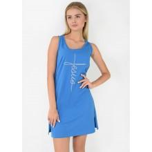 Сорочка ночная N.EL 1204-02 blue