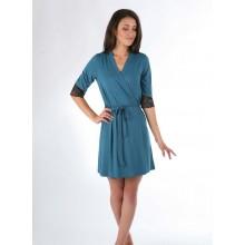 Халат женский N.EL 288 turquoise