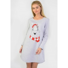Сорочка ночная N.EL 741-33 grey
