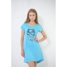 Сорочка ночная N.EL 753-12 blue