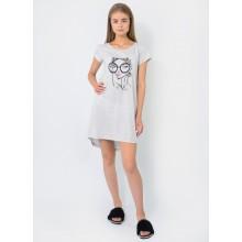 Сорочка ночная N.EL 753-12 gray