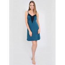 Сорочка ночная N.EL 932-92 turquoise