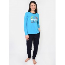Пижама N.EL 964-33 cyan blue