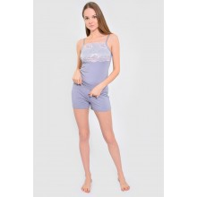Пижама N.EL 977-90 grey
