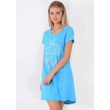 Сорочка ночная N.EL 985-12 light blue