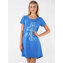 Сорочка ночная N.EL 985-12 navy blue