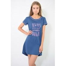 Сорочка ночная N.EL 985-12 blue
