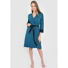 Халат женский N.EL 996-92 turquoise