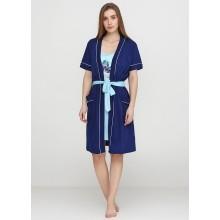 Комплект Vienetta (сорочка, халат) 410004-4647