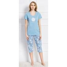 Пижама женская Vienetta 707034-7074 blue