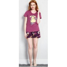 Пижама Vienetta 708032-0442 plum