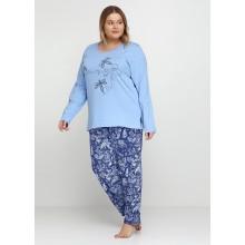 Пижама Vienetta 802210-4716 blue