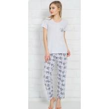 Пижама Vienetta 810124-3325 grey